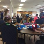 Wyandotte UMC art workshop pre hunt6