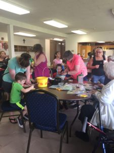 Wyandotte UMC art workshop pre hunt8