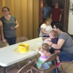 Wyandotte UMC art workshop pre hunt9