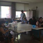Wyandotte UMC art workshop pre hunt5