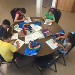 Wyandotte UMC art workshop pre hunt2