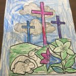 Wyandotte UMC art workshop pre hunt4