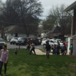 Wyandotte UMC 2017 Easter Egg Hunt underway
